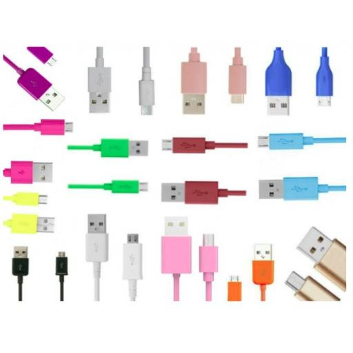 Micro USB Cables 1/2/3 Metres