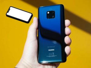 The Mate 20 pro. Similar looking camera to the iPhone 11s'